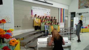 Revija pevskih zborov Metuljček Cekinček