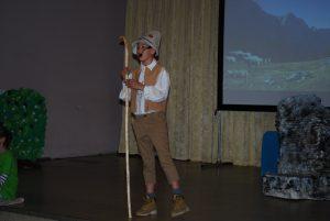 Predstava Kekec v mestu