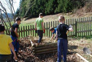 Čiščenje šolskega okoliša