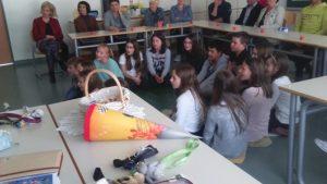 Učna ura nemškega jezika 4. in 5. razred